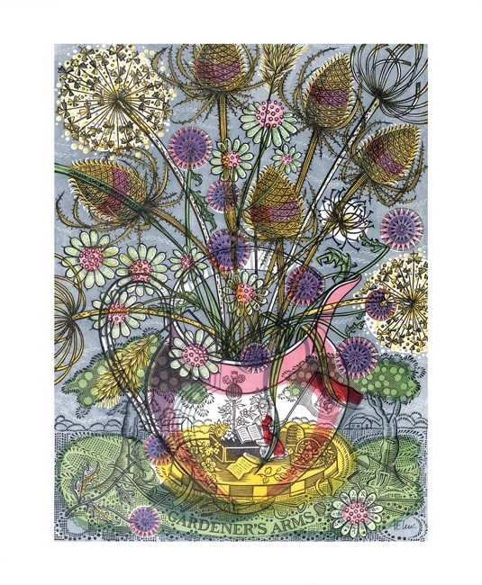'Gardener's Arms' 2017 by Angie Lewin (A734)