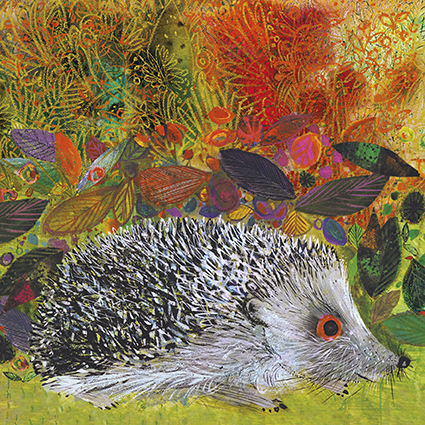 'There's a hedgehog in my garden' by Brian Wildsmith (C566) * NEW for 2021
