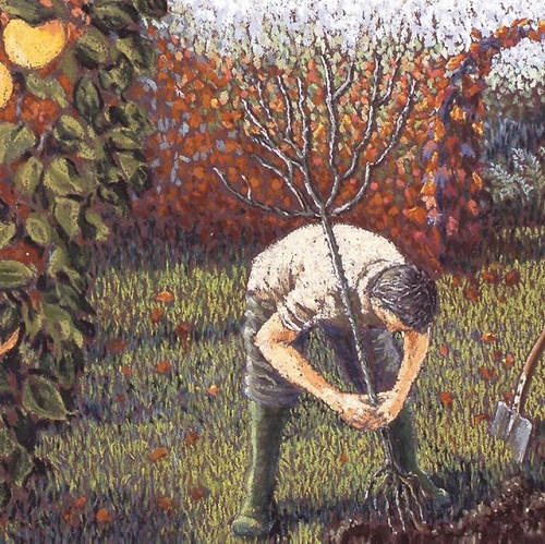 A Gardeners Work Is Never Done By Cath Read