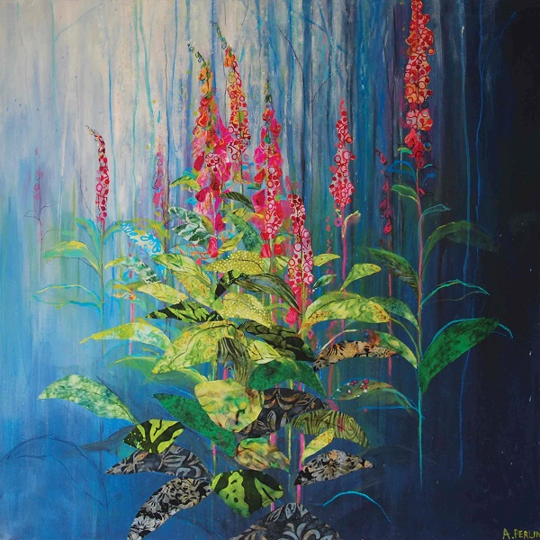 'Foxgloves' by Anna Perlin (Q165) *