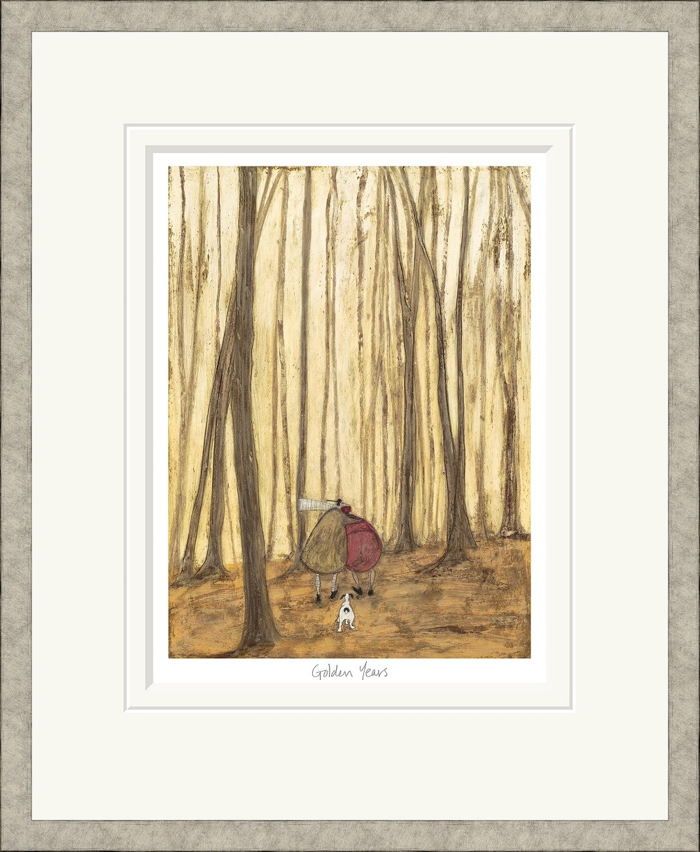 Golden years by sam toft golden years ltd ed signed mounted print by sam toft print m4hsunfo