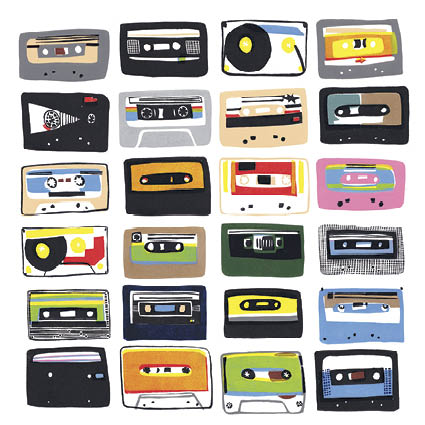 'Cassette Tapes' 2017 by Hannah Forward (C536)