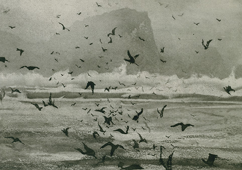 'High Island, Connemara' 2006 by Norman Ackroyd (C420) CBE RA