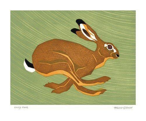 Hurry Hare by Robert Gillmor
