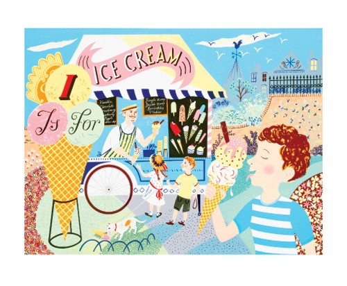'I is for Ice Cream' by Emily Sutton (A099) *