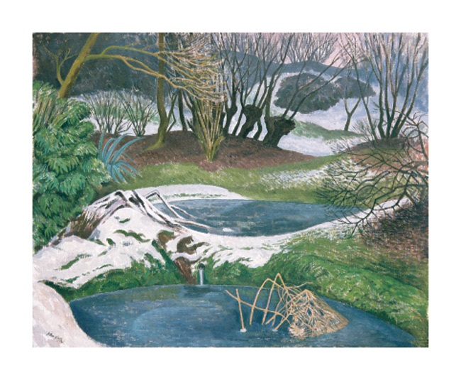 'Frozen Ponds' by John Nash (A783w) NEW