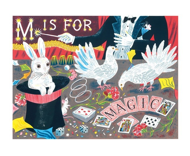 'M is for Magic' by Emily Sutton (A714)