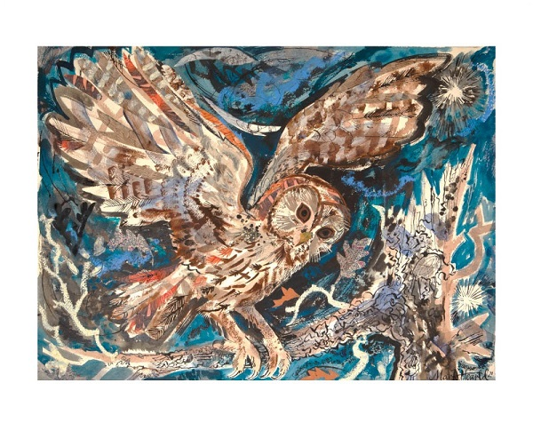 'Tawny Owl' by Mark Hearld (A913) * NEW for 2021