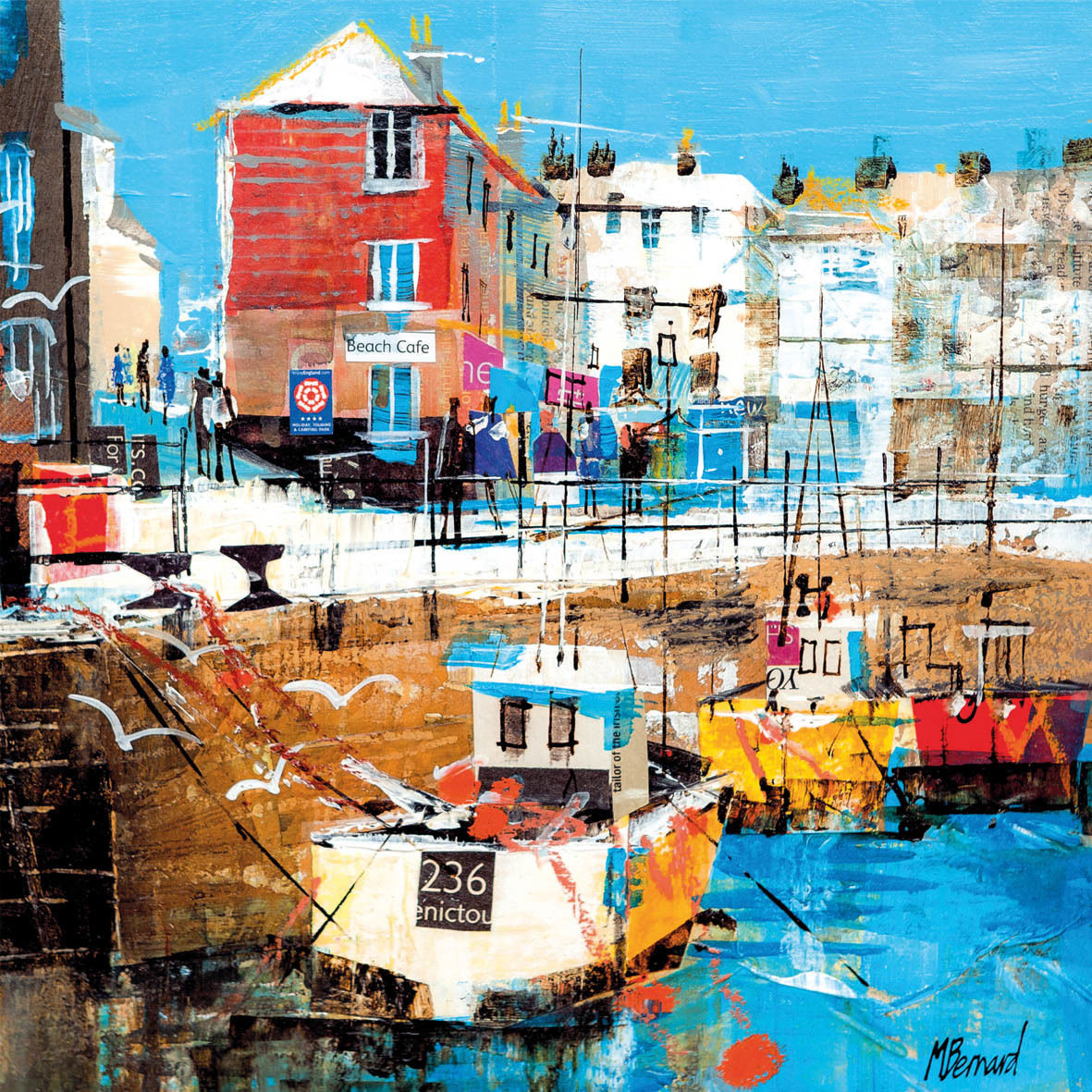 'Padstow Harbour, Cornwall' by Mike Bernard (D105)