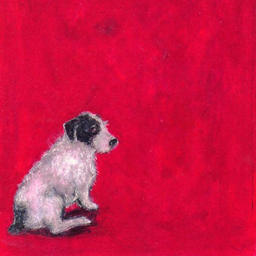 Dogs Blank Art Greeting Cards