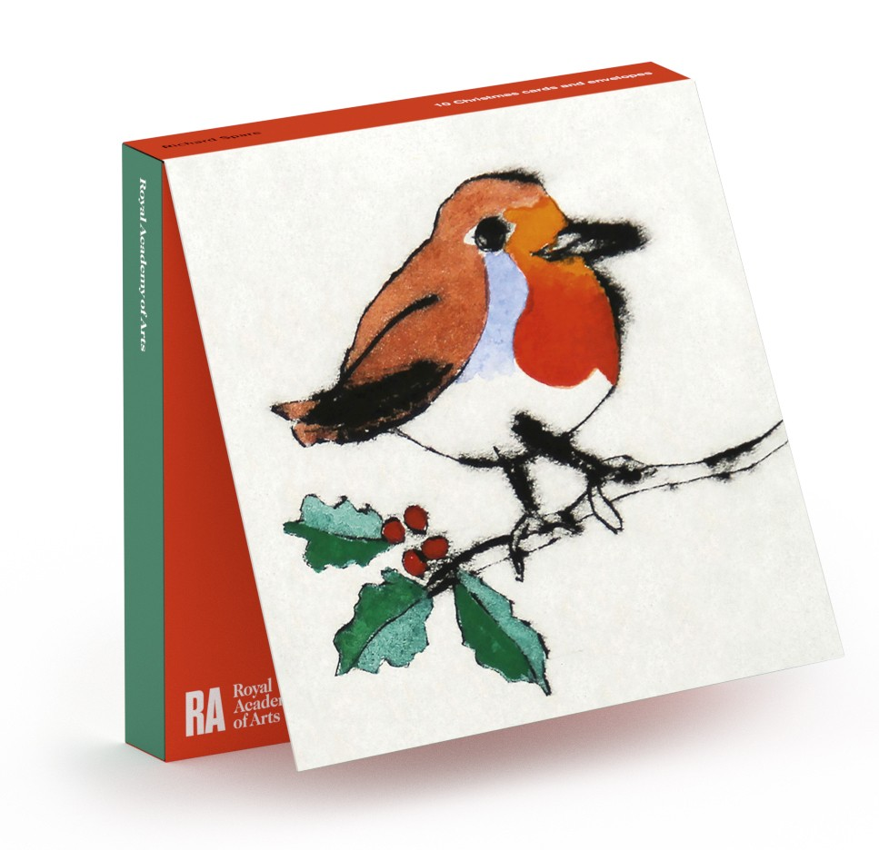 Richard Spare RA 'Holly Robin' 2015 (ra46) (10 card wallet)