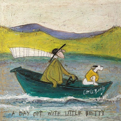 Sam toft art cards a day out with little betty by sam toft c399 m4hsunfo