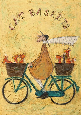 Sam toft art cards cat baskets by sam toft c400 m4hsunfo