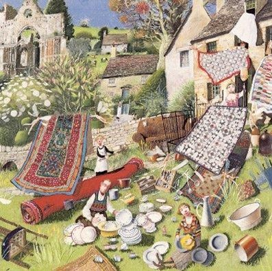 'Spring Clean' by Richard Adams (L047)