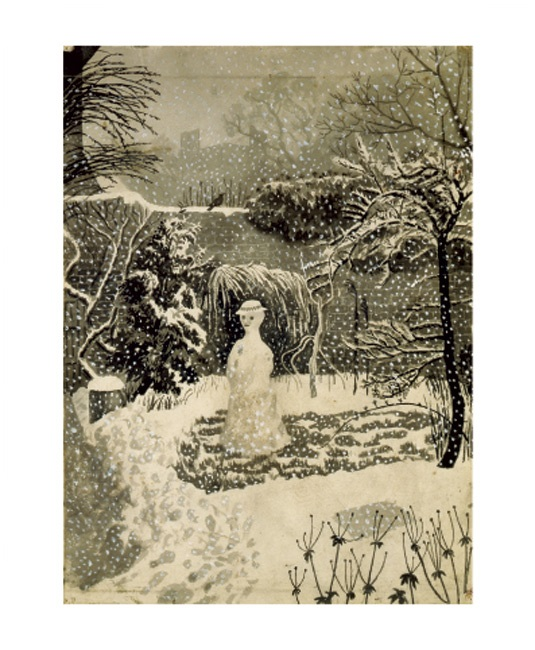 'Snow Woman' by Tirzah Garwood  (A785w) NEW