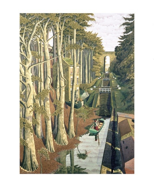 'View from a Canal Bridge' by Simon Palmer (A700)