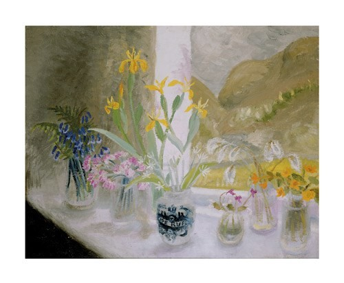 'Wild Flower Window Sill' by Winifred Nicholson (A103)