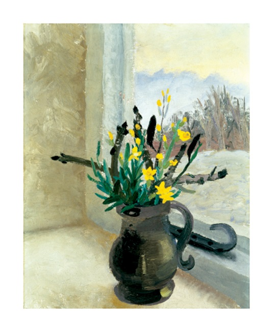 'Horse Chestnut Buds and Winter Flowering Jasmine' by Winifred Nicholson (A851w) NEW