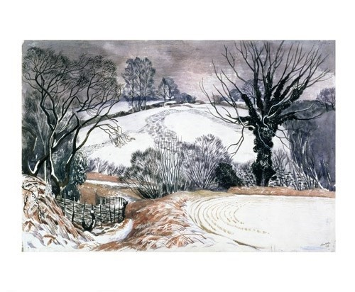 'Winter Afternoon' by John Nash (A733w)