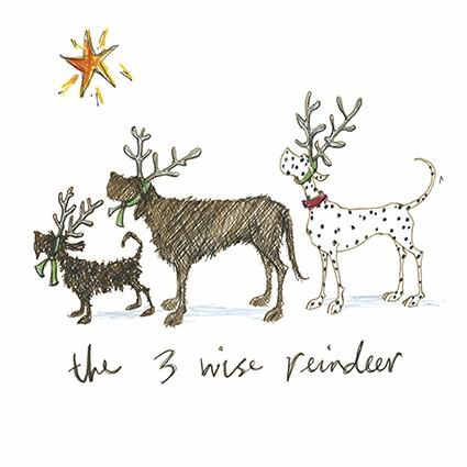 Sam toft christmas 3 wise reindeer by sam toft st6 m4hsunfo