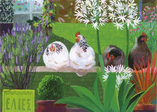 'Hariet's Hens' by Sheila Smithson (B313)