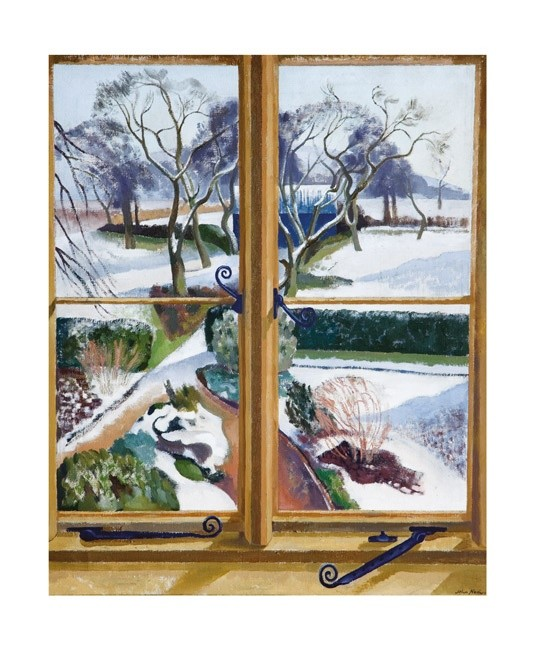 'The Garden under Snow' c1924-30 by John Nash (A160w)